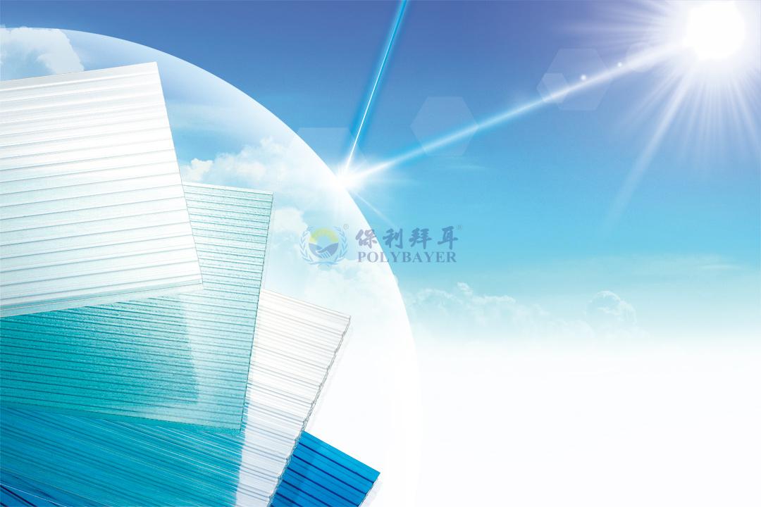 中空阳光板平板透光率技术参数